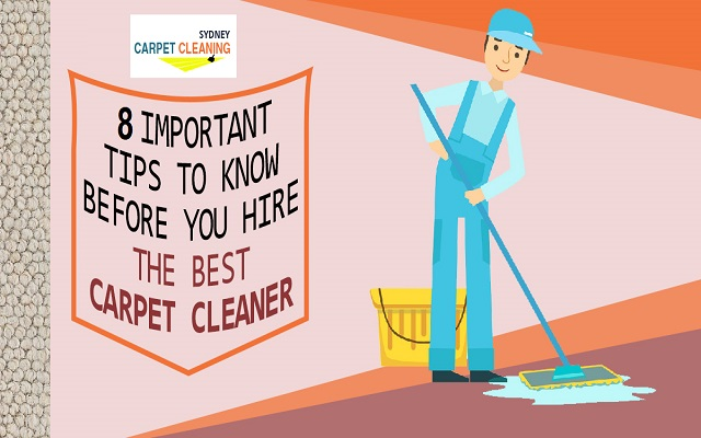 Tips To Hiring A Good Carpet Cleaning Service Near You |
